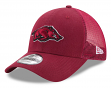 "Arkansas Razorbacks New Era 9Forty NCAA ""Trucker Washed"" Adjustable Hat"