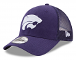 "Kansas State Wildcats New Era 9Forty NCAA ""Trucker Washed"" Adjustable Hat"