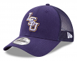 "LSU Tigers New Era 9Forty NCAA ""Trucker Washed"" Adjustable Hat"