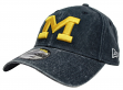 "Michigan Wolverines New Era NCAA 9Twenty ""Rugged Wash"" Adjustable Hat"