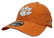 "Clemson Tigers New Era NCAA 9Twenty ""Rugged Wash"" Adjustable Hat"