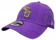 "LSU Tigers New Era NCAA 9Twenty ""Rugged Wash"" Adjustable Hat"