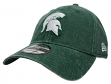 "Michigan State Spartans New Era NCAA 9Twenty ""Rugged Wash"" Adjustable Hat"