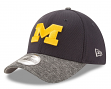 "Michigan Wolverines New Era NCAA 39THIRTY ""Team Shaded"" Performance Flex Fit Hat"