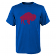 "Buffalo Bills Youth NFL ""Distressed Vintage Logo"" Short Sleeve T-Shirt"