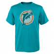 "Miami Dolphins Youth NFL ""Distressed Vintage Logo"" Short Sleeve T-Shirt"