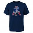 "New England Patriots Youth NFL ""Distressed Vintage Logo"" Short Sleeve T-Shirt"