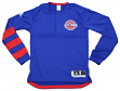 Detroit Pistons Adidas 2016 NBA On-Court Authentic L/S Shooting Shirt - Small