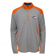 "Denver Broncos Youth NFL ""DNA"" Lightweight 1/4 Zip Pullover Sweatshirt"