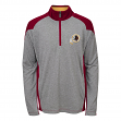 "Washington Redskins Youth NFL ""DNA"" Lightweight 1/4 Zip Pullover Sweatshirt"