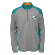 "Miami Dolphins Youth NFL ""DNA"" Lightweight 1/4 Zip Pullover Sweatshirt"