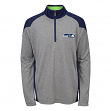 "Seattle Seahawks Youth NFL ""DNA"" Lightweight 1/4 Zip Pullover Sweatshirt"