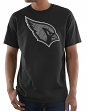 "Arizona Cardinals Majestic NFL ""Primetime"" Men's Short Sleeve Black T-Shirt"