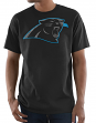 "Carolina Panthers Majestic NFL ""Primetime"" Men's Short Sleeve Black T-Shirt"