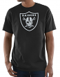 "Oakland Raiders Majestic NFL ""Primetime"" Men's Short Sleeve Black T-Shirt"