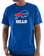 "Buffalo Bills Majestic NFL ""Critical Victory 3"" Men's S/S T-Shirt - Blue"