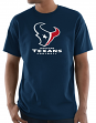 "Houston Texans Majestic NFL ""Critical Victory 3"" Men's S/S T-Shirt - Navy"