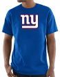 "New York Giants Majestic NFL ""Critical Victory 3"" Men's S/S T-Shirt - Blue"
