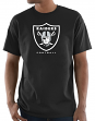 "Oakland Raiders Majestic NFL ""Critical Victory 3"" Men's S/S T-Shirt - Black"