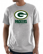"""Green Bay Packers Majestic NFL """"Critical Victory 3"""" Men's S/S T-Shirt - Gray"""