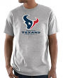 "Houston Texans Majestic NFL ""Critical Victory 3"" Men's S/S T-Shirt - Gray"