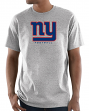 "New York Giants Majestic NFL ""Critical Victory 3"" Men's S/S T-Shirt - Gray"