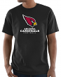 "Arizona Cardinals Majestic NFL ""Critical Victory 3"" Men's S/S T-Shirt - Black"