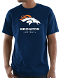 "Denver Broncos Majestic NFL ""Critical Victory 3"" Men's S/S T-Shirt - Navy"