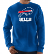 "Buffalo Bills Majestic NFL ""Critical Victory 3"" Men's Crew Sweatshirt"
