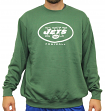 "New York Jets Majestic NFL ""Critical Victory 3"" Men's Crew Sweatshirt"