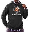 "Cincinnati Bengals Majestic NFL ""Critical Victory 3"" Men's Hooded Sweatshirt"