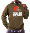 "Cleveland Browns Majestic NFL ""Critical Victory 3"" Men's Hooded Sweatshirt"