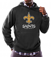 "New Orleans Saints Majestic NFL ""Critical Victory 3"" Men's Hooded Sweatshirt"