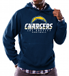"Los Angeles Chargers Majestic NFL ""Critical Victory 3"" Men's Hooded Sweatshirt"