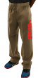 "Cleveland Browns Majestic NFL ""Victory"" Men's Fleece Sweatpants - Brown"