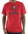 "Tampa Bay Buccaneers Majestic NFL ""Pick Six"" Men's Short Sleeve T-Shirt - Red"