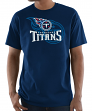 "Tennessee Titans Majestic NFL ""Pick Six"" Men's Short Sleeve T-Shirt - Navy"