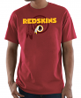 "Washington Redskins Majestic NFL ""Pick Six"" Men's Short Sleeve T-Shirt - Red"