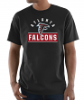 "Atlanta Falcons Majestic NFL ""Maximized"" Men's Short Sleeve T-Shirt"
