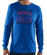 Buffalo Bills Majestic NFL Primary Receiver 3 Men's Long Sleeve T-Shirt