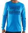 Carolina Panthers Majestic NFL Primary Receiver 3 Men's Long Sleeve T-Shirt