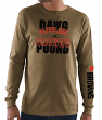 Cleveland Browns Majestic NFL Primary Receiver 3 Men's Long Sleeve T-Shirt