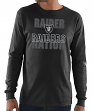 Oakland Raiders Majestic NFL Primary Receiver 3 Men's Long Sleeve T-Shirt