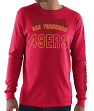 San Francisco 49ers Majestic NFL Primary Receiver 3 Men's Long Sleeve T-Shirt
