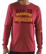 Washington Redskins Majestic NFL Primary Receiver 3 Men's Long Sleeve T-Shirt