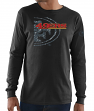 "San Francisco 49ers Majestic NFL ""Elite Reflective"" Men's L/S Black T-Shirt"