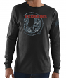 "Washington Redskins Majestic NFL ""Elite Reflective"" Men's L/S Black T-Shirt"