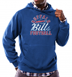 "Buffalo Bills Majestic NFL ""Kick Return 3"" Men's Blue Hooded Sweatshirt"