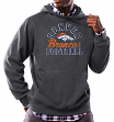 "Denver Broncos Majestic NFL ""Kick Return 3"" Men's Charcoal Hooded Sweatshirt"