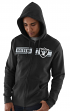 "Oakland Raiders Majestic NFL ""Touchback 2"" Men's Full Zip Hooded Sweatshirt"